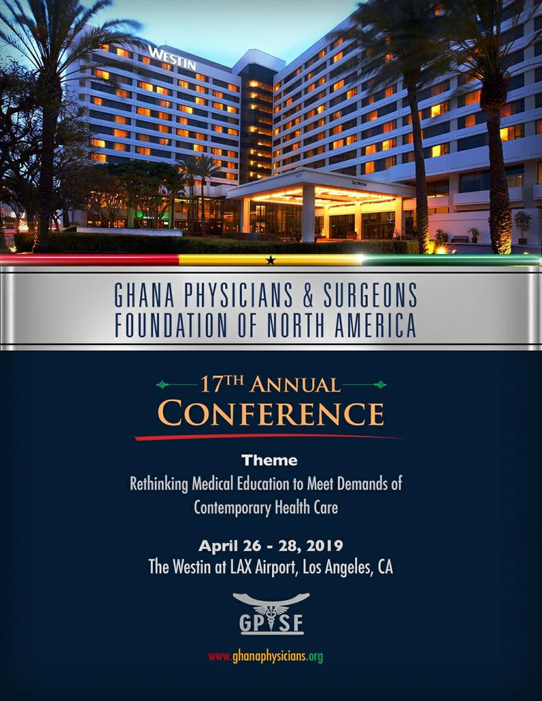 Upcoming Events – Ghana Physicians and Surgeons Foundation